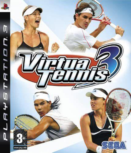 Jogo PS3 Usado Virtua Tennis 3