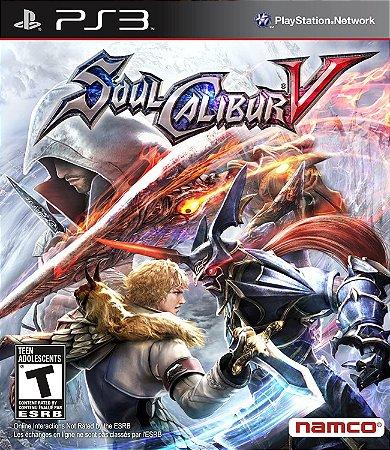 Jogo PS3 Usado Soul Calibur V