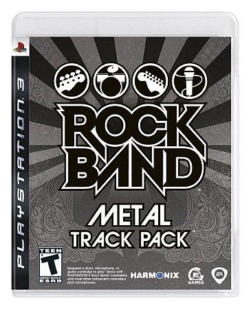 Jogo PS3 Usado Rock Band Metal Track Pack