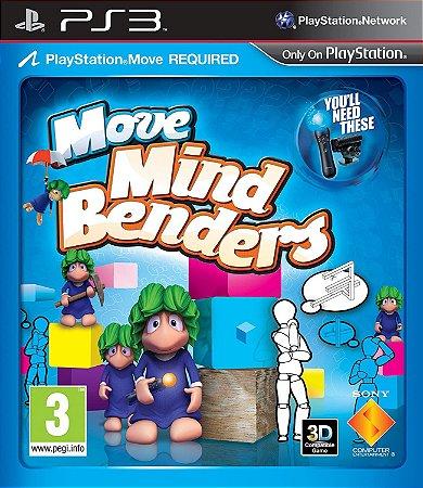 Jogo PS3 Usado Move Mind Benders