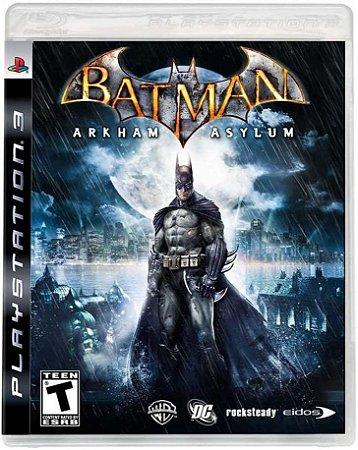 Jogo PS3 Usado Batman Arkham Asylum