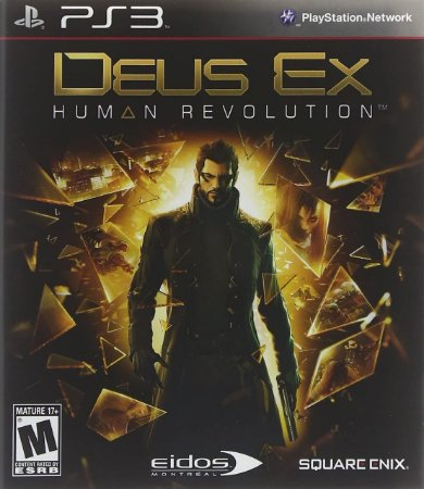 Jogo PS3 Novo Deus Ex Human Revolution