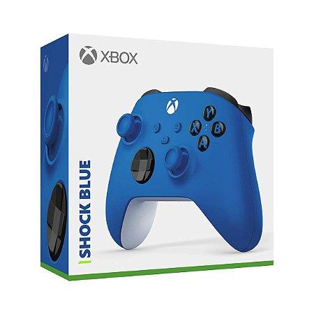 Periférico Controle Xbox Series Shock Blue