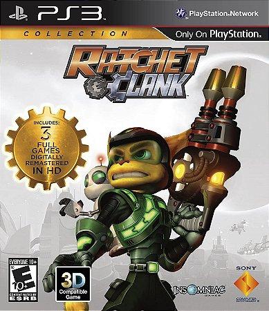 Jogo PS3 Usado Ratchet Clank Collection
