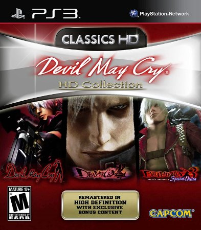 Jogo PS3 Usado Devil May Cry Collection