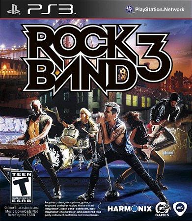 Jogo PS3 Usado Rock Band 3
