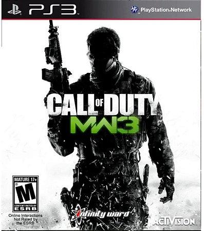 Jogo PS3 Usado Call Of Duty Modern Warfare 3