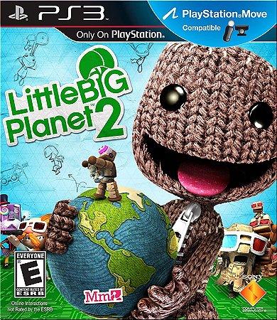 Jogo PS3 Usado Little Big Planet 2
