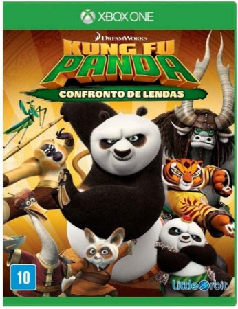 Jogo XBOX ONE Usado Kung Fu Panda Confronto de Lendas