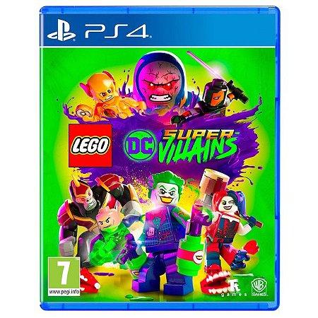 Jogo PS4 Usado LEGO DC Super-Villains