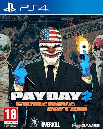 Jogo PS4 Usado Payday 2 Crimewave Edition