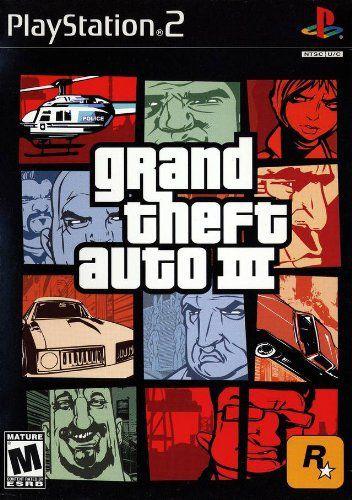 Jogo PS2 Usado Grand Theft Auto III