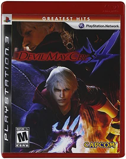 Jogo PS3 Novo Devil May Cry 4