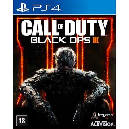 Jogo PS4 Usado Call of Duty Black Ops 3
