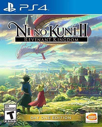 Jogo PS4 Usado Ni No Kuni II Revenant Kingdom