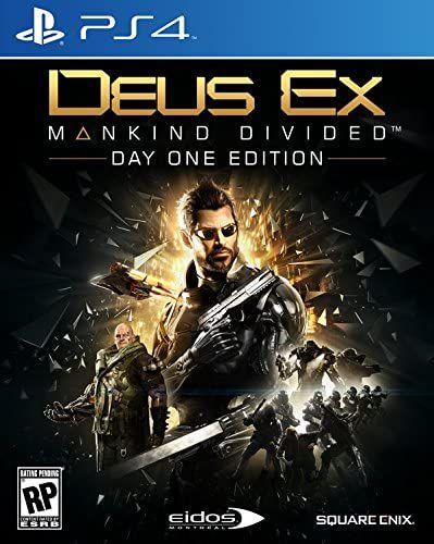 Jogo PS4 Usado Deus Ex Mankind Divided
