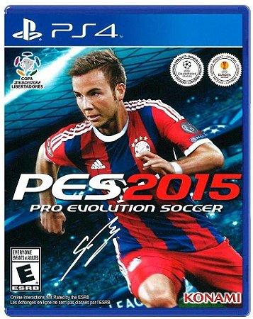 Jogo PS4 Usado PES 2015