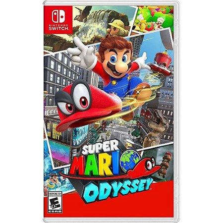 Jogo Switch Novo Super Mario Odyssey