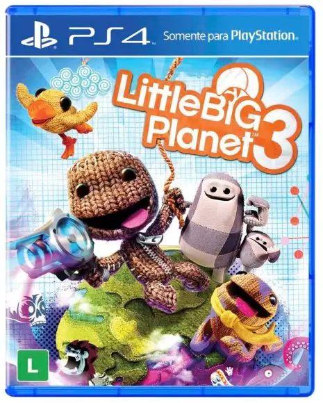 Jogo PS4 Usado Little Big Planet 3