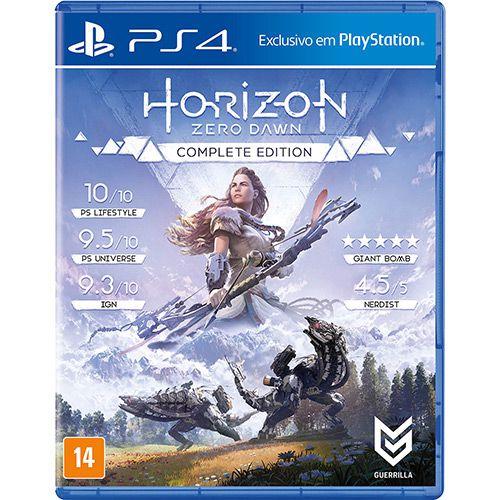 Jogo PS4 Novo Horizon Zero Dawn Complete Edition