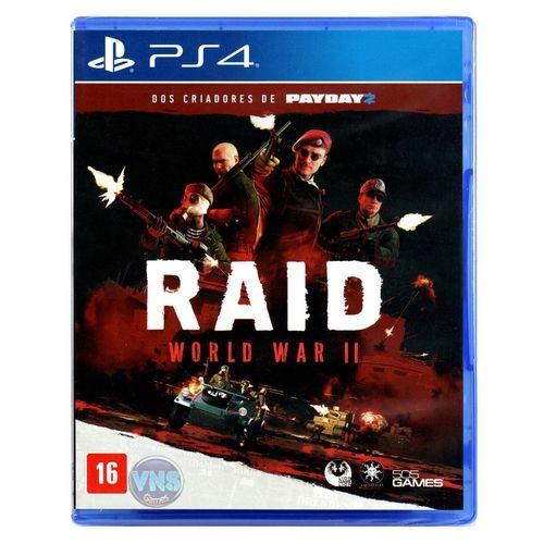 Jogo PS4 Novo Raid World War II