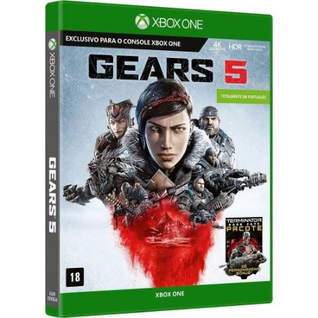 Jogo  XBOX ONE Usado Gears of War 5