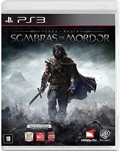 Jogo PS3 Usado Sombras de Mordor