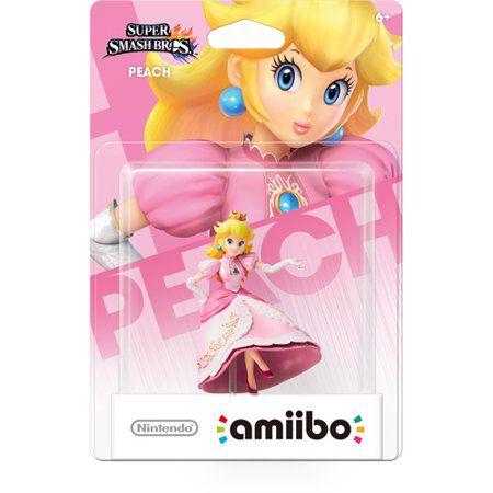 Amiibo Novo Peach Super Smash Bros