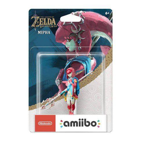 Amiibo Novo Mipha Zelda Breath Of The Wild