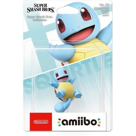 Amiibo Novo Squirtle Super Smash Bros