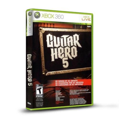 Jogo XBOX 360 Usado Guitar Hero 5