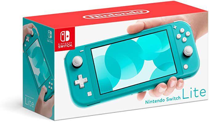 Console Novo Nintendo Switch Lite Turquesa