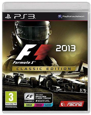 Jogo PS3 Usado F1 2013