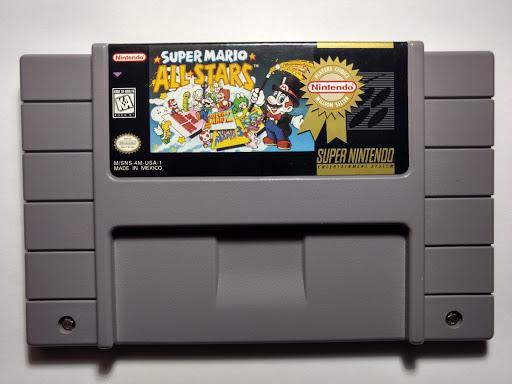 Jogo SNES Usado Super Mario All-Stars
