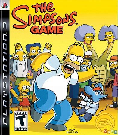 Jogo PS3 Usado The Simpsons Game