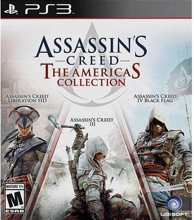 Jogo PS3 Usado Assassin's Creed The Americas Collection