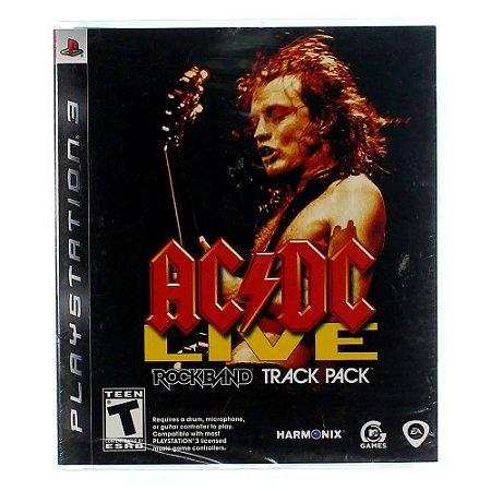 Jogo PS3 Usado AC/DC Live: Rock Band Track Pack