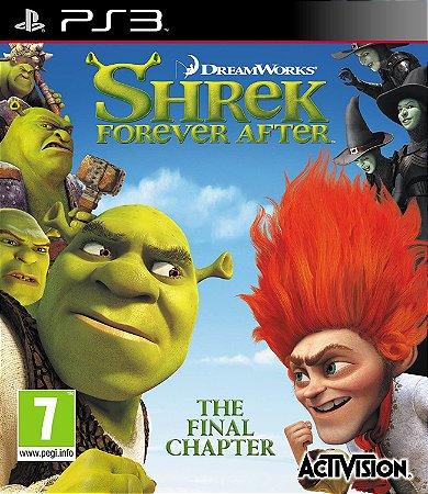 Jogo PS3 Usado Shrek Forever After