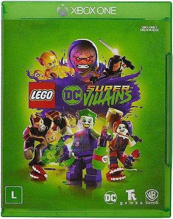 Jogo XBOX ONE Novo LEGO DC Super Villains