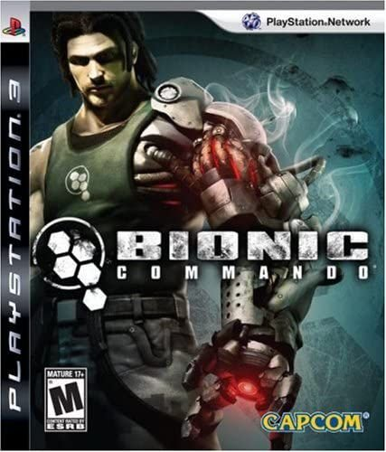 Jogo PS3 Usado Bionic Comando