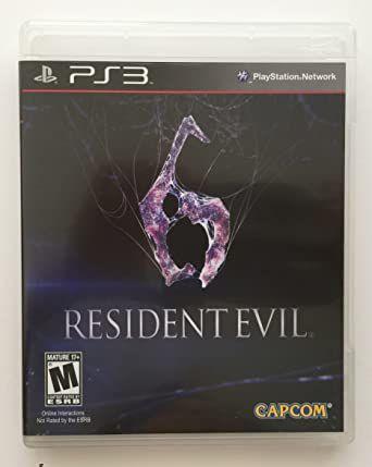 Jogo PS3 Usado Resident Evil 6