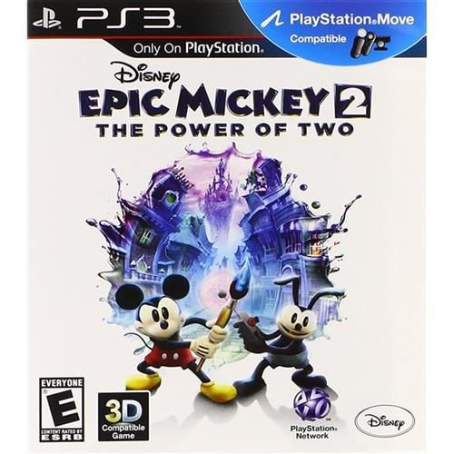 Jogo PS3 Usado Epic Mickey 2 The Power of Two