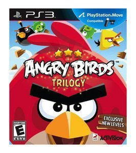 Jogo PS3 Usado Angry Birds Trilogy