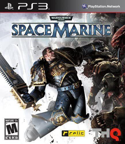 Jogo PS3 Usado WarHammer Space Marine
