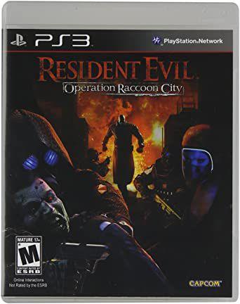 Jogo PS3 Usado Resident Evil Operation Raccoon City