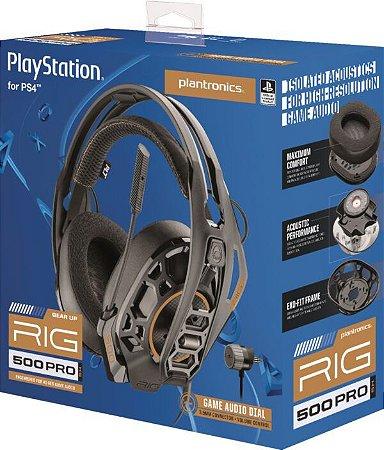 Acessório PS4 Novo Headset Nacon RIG 500 PRO