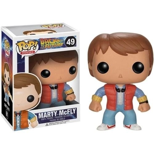Pop Funko 49 Marty McFly Back to the Future