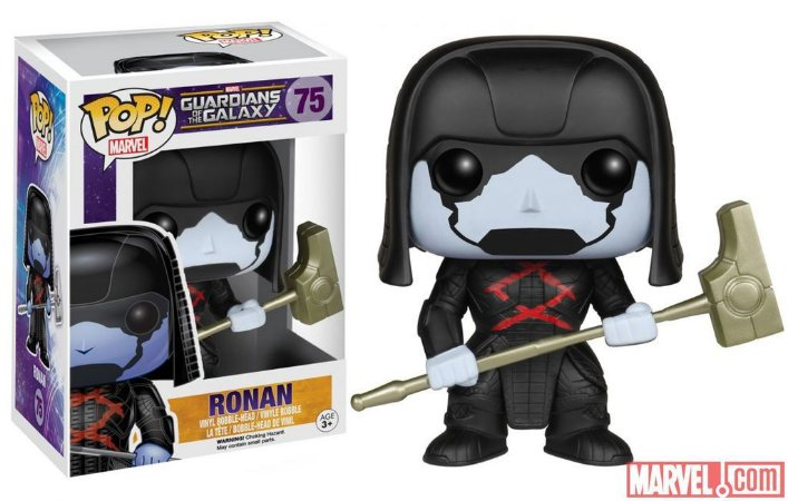 Pop Funko 75 Ronan Guardians of the Galaxy