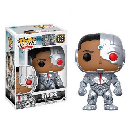 Pop Funko 209 Cyborg Justice League