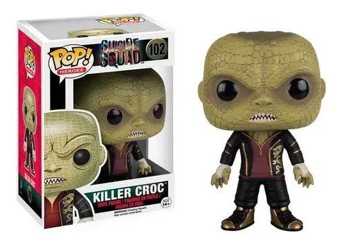 Pop Funko 102 Killer Croc Suicide Squad